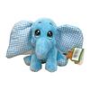 Elefante de Pelúcia Azul Baby