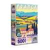 Quebra-Cabeça Postais da Europa França 500 Peças