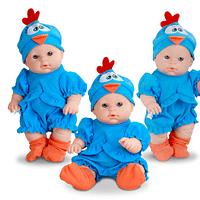 Boneca Mini Baby Galinha Pintadinha