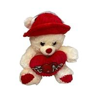 Urso de Pelúcia com Chapéu e Coração