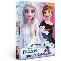 Quebra-Cabeça Frozen Disney 150 Peças