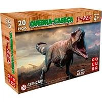 Quebra-Cabeça em Madeira T-Rex 20 Peças