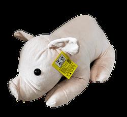 Porco de Pelucia Deitado