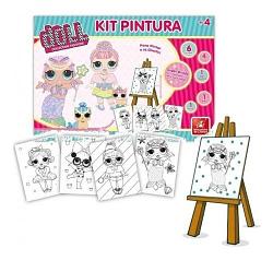 Kit de Pintura Doll Collection Fashion