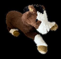 Cavalo de Pelucia Deitado