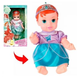 BONECA BABY PRINCESA VINIL ARIEL DISNEY