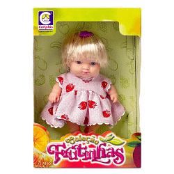 Boneca Colecao Frutinhas Morango