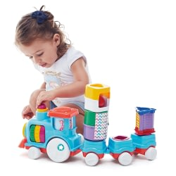 Brinquedo Educativo Anima Trem Blocks