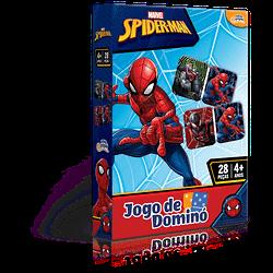 JOGO DE DOMINO SPIDER MAN MARVEL