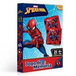 JOGO DE MEMORIA SPIDER MAN MARVEL