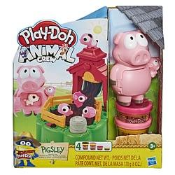 Massinha Play Doh Animal Crew Porquinhos Brincalhoes