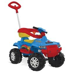 Quadriciclo Infantil Superquad Passeio e Pedal Azul