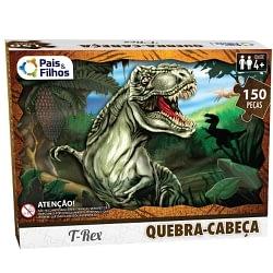 Quebra-Cabeça - T-Rex - 150 peças