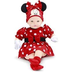 Boneca Classic Dolls Recém Nascido Disney Minnie Mouse