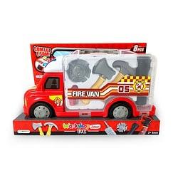 Caminhão de Bombeiro Workshop Junior Truck com Acessórios