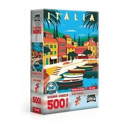 Quebra-Cabeça Postais da Europa Itália 500 Peças