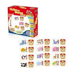 Brinquedo Educativo TicTac dos Bichos