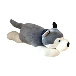Cachorro Husky Siberiano de Pelúcia