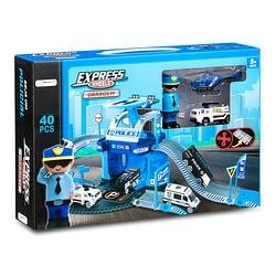 Express Wheels Garagem Polícia 40 Peças