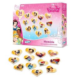Jogo da Memória em Madeira Princesas Disney