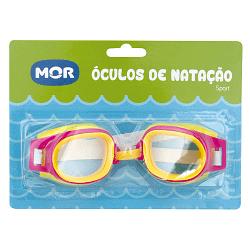 Óculos de Natação Sport Rosa e Amarelo