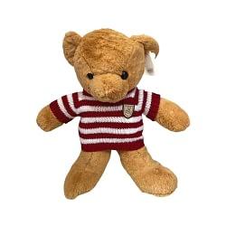 Urso de Pelúcia com Suéter Tricô