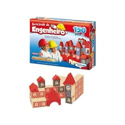 Brincando de Engenheiro 150 Peças
