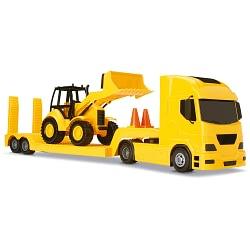 Caminhão e Carregadeira Pollux HL 600 Construction