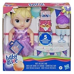 Boneca Baby Alive Bebê Festa de Presentes