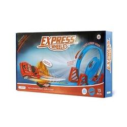 Express Wheels Pista Power Track Duplo Loop