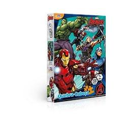 Quebra-Cabeça Avengers Marvel 200 Peças