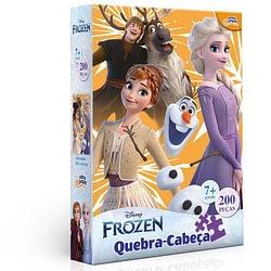 Quebra-Cabeça Frozen Disney 200 Peças