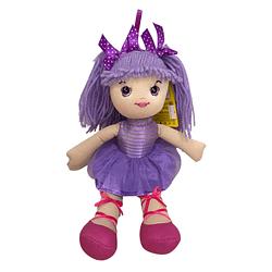 Boneca de Pano Lilás