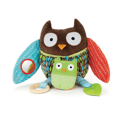 Brinquedo para Bebê Coruja Hug & Hide