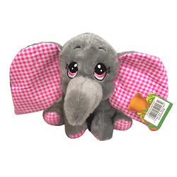Elefante de Pelúcia Rosa Baby