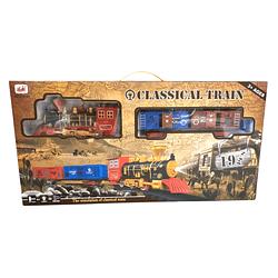 Locomotiva Trem Clássico 19 Peças