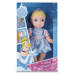 Boneca Baby Princesa Vinil Cinderela Disney