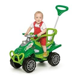 Quadriciclo Infantil Cross Turbo Calesita Verde