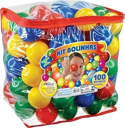 Kit de Bolinhas Coloridas Pacote com 100