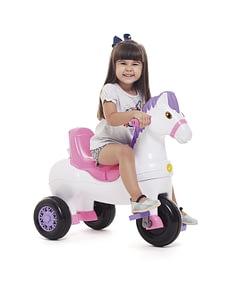 Triciclo Infantil Potó Calesita Rosa