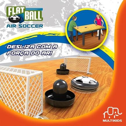 Flat Ball Air Soccer de Mesa