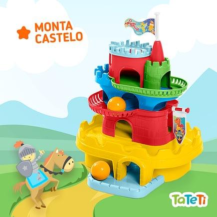 Brinquedo Educativo Monta Castelo