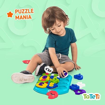Brinquedo Educativo Puzzle Mania Números