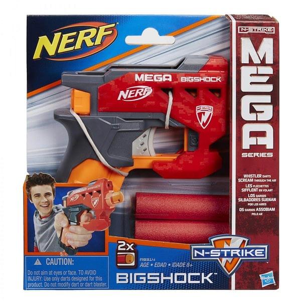 Lancador de Dardos Nerf N Strike Mega Bigshock