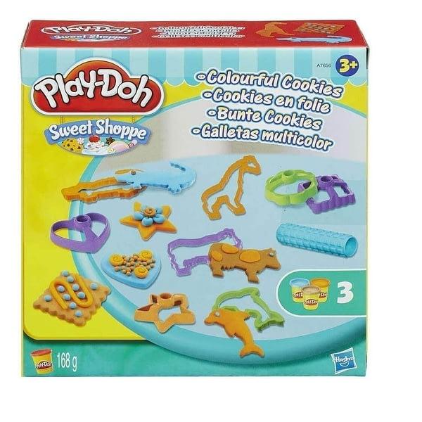 Massinha Play Doh Cookies Coloridos