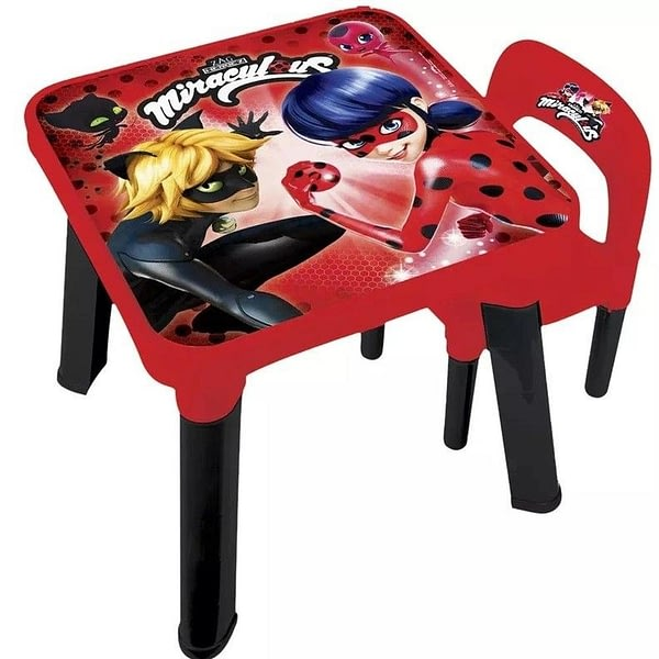 Mesa e Cadeira Miraculous Ladybug