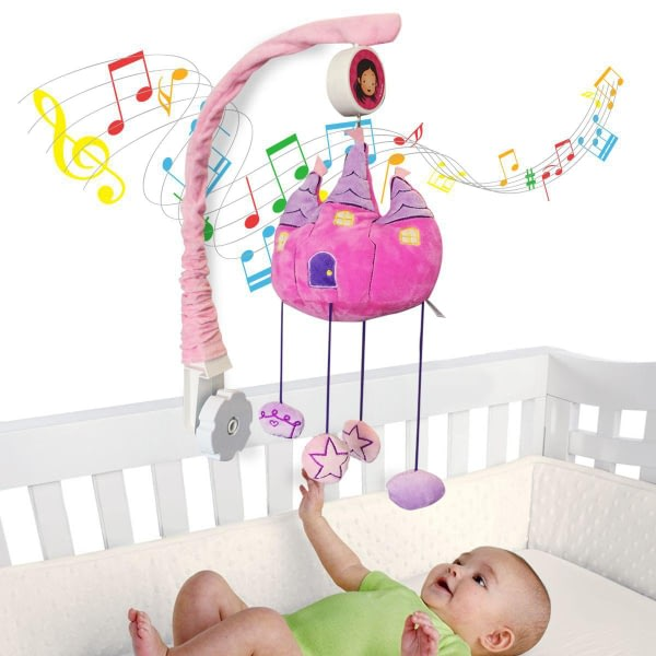 Mobile Musical Para Berco Fun Princesa