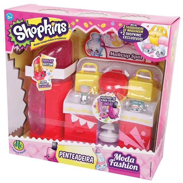 Shopkins Penteadeira Moda Fashion