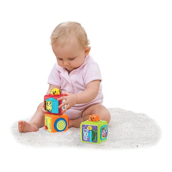 Brinquedo Educativo Trio de Blocos de Atividades