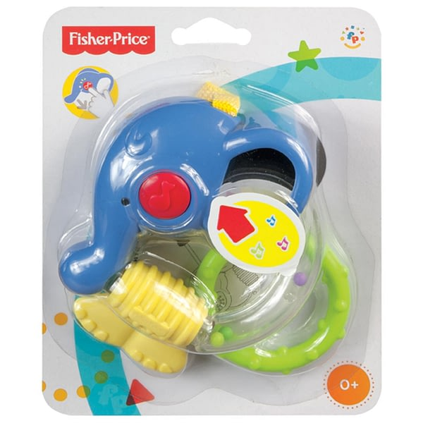 Mordedor Musical Link-a-Doos Elefante Fisher-Price
